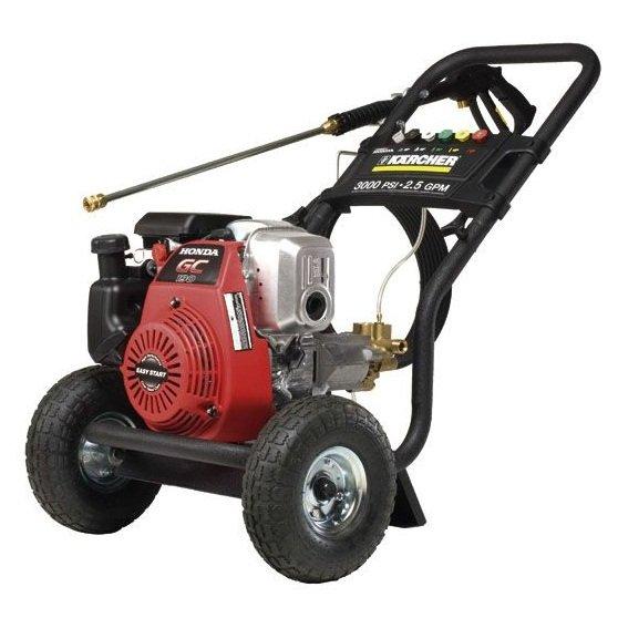 karcher petrol honda engine   mobile high pressure cleaner