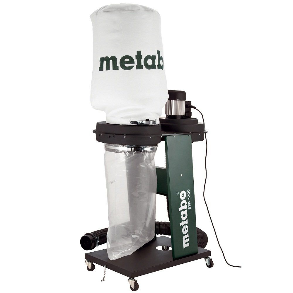 Metabo chip and dust extractor system spa 1200 discount for Aspirateur 2000w