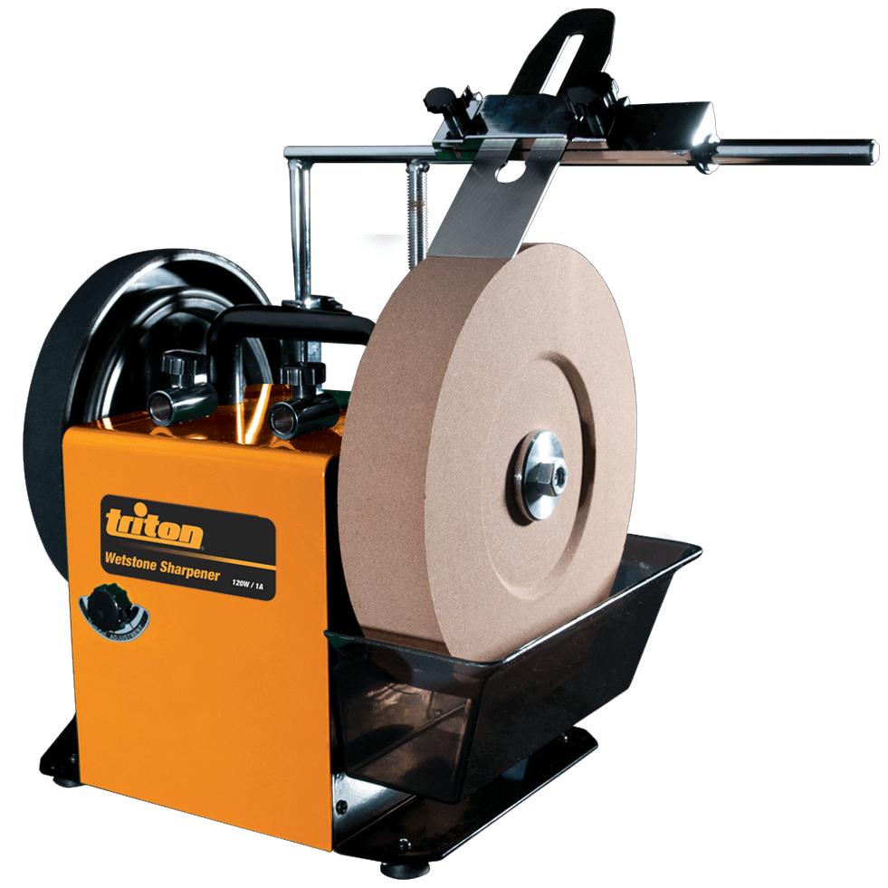 triton sharpening machine water cooled grinding machine wetstone system twss10 discount trader. Black Bedroom Furniture Sets. Home Design Ideas