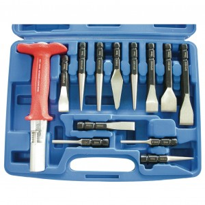 "12pc 3/8""Dr Punch & Chisel Set"