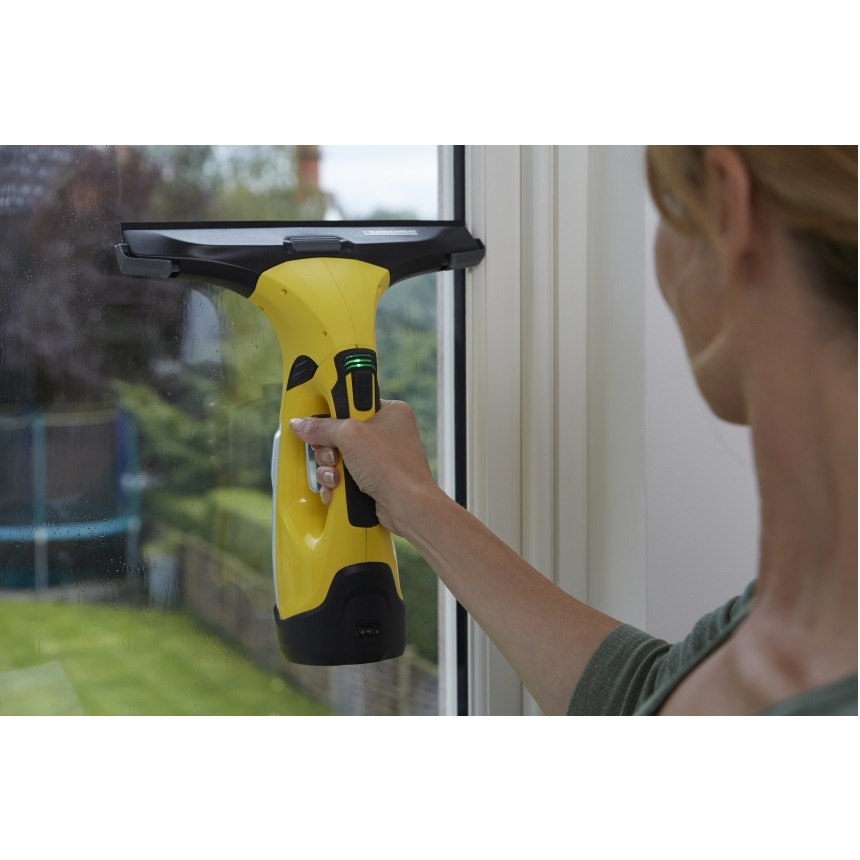 Karcher window vacuum wv 5 premium non stop cleaning kit for Window karcher