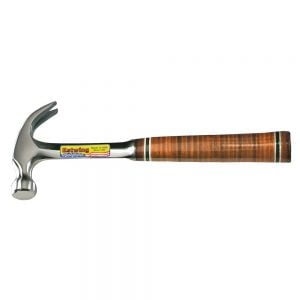 Estwing E20C Claw Hammer Leather Grip 20oz