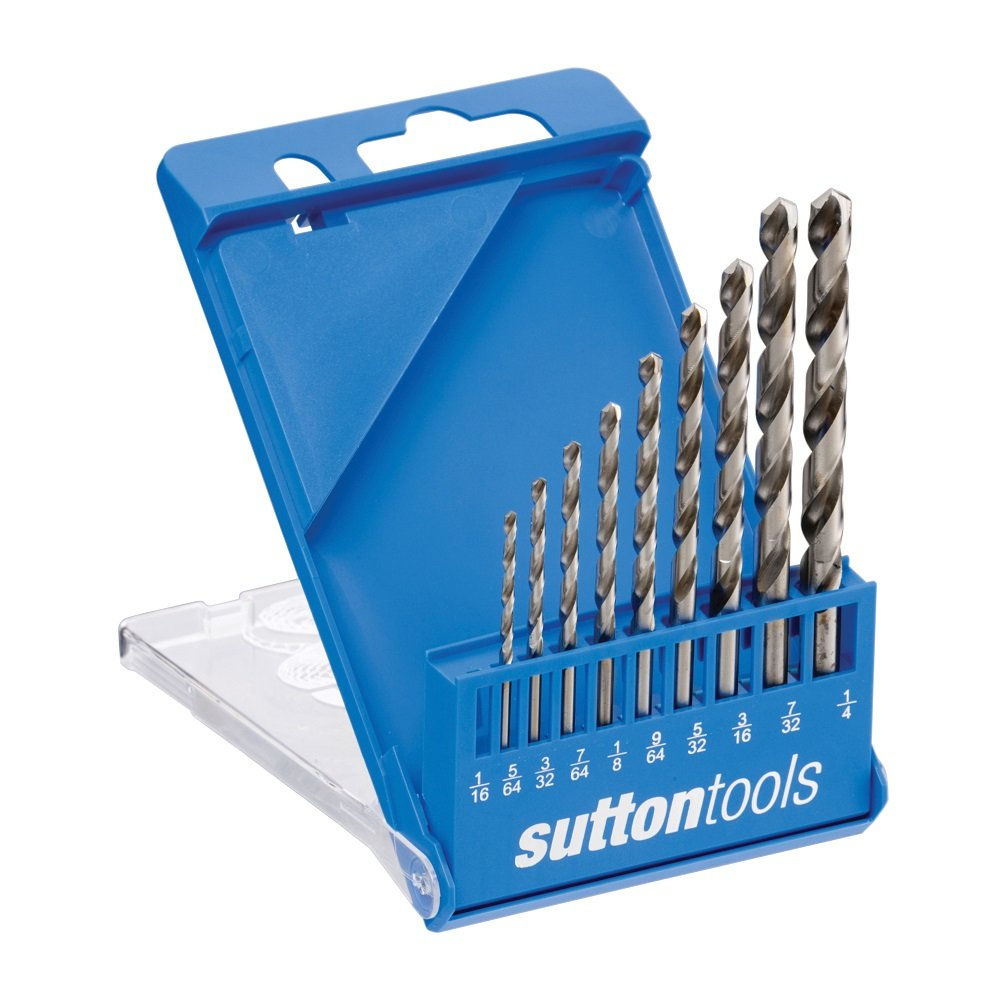 Sutton Viper Drill Set 10 Piece Imperial SLV10 D105SLV10