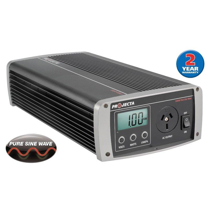 Projecta 12V 1000W Pure Sine Wave Inverter IP1000