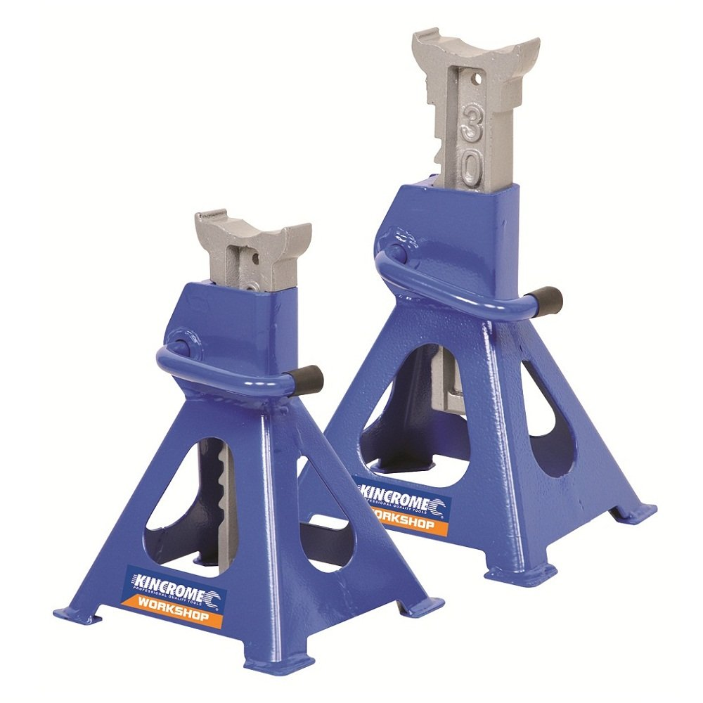 Kincrome Ratchet Jack Stands 2000Kg 2 Piece K12073