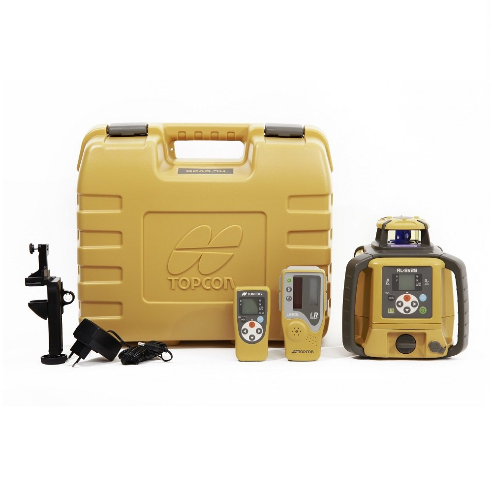 Topcon Dual Grade Construction Laser Level Kit RL-SV2S