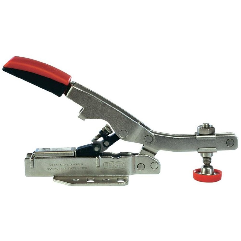 Bessey Horizontal Toggle Clamp With Open Arm And Horizontal Base Plate STC-HH50