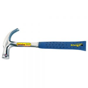 Estwing E3-28C-24 Claw Hammer 24oz Shock Reduction Grip English Pattern