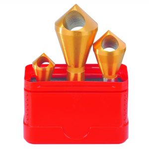 Savage 32-S1 by Bordo Professional Countersink Set - Cross Hole 3 Piece '32-S1'