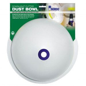 Bordo 7095-DB1 Downlight Plaster Drill Dust & Debris Bowl Catcher / Collector