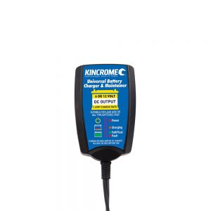 Kincrome KP87001 Universal Battery Charger & Maintainer 6/12 Volt 1 Amp 'KP87001'
