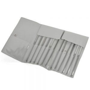 Vallorbe Swiss by Sutton Tools M305M060 Precision Needle File Classic Set 12 Piece 160mm 'LAM040-160'