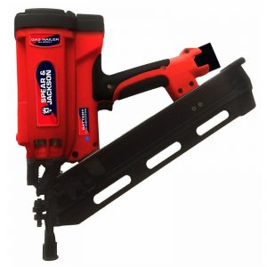 Spear and Jackson SJ-GFKL1 Cordless 34 Degree Clipped Head Framing Gun Kit / Framer / Nailer 'SJ-GFKL1'