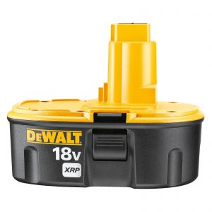 DeWalt DC90962-XE Heavy Duty XRP 2.4Ah NiCd Battery Twin Pack - 2x DC9096