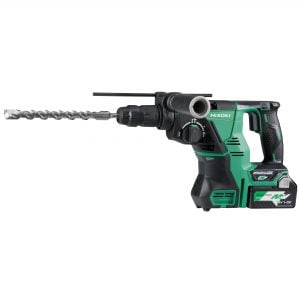 HiKOKI – HITACHI DH36DPC(H4Z) 36V MultiVolt Lithium-Ion Brushless SDS Plus Rotary Hammer with Quick Release Chuck - Skin Only