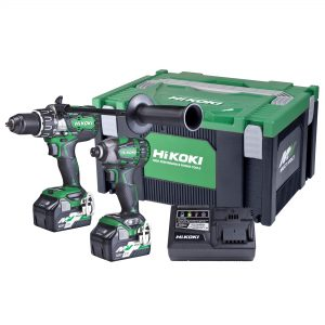 HiKOKI - HITACHI KC36DBDL(HRZ) 2 Piece 18V/36V MultiVolt Brushless Combination Pack Hammer Drill/Driver + Impact Driver Kit - Redemption as Per HiKOKI Power Tools Australia