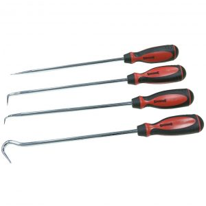 Sidchrome SCMT70061 4 Piece Long Pick and Hook Set