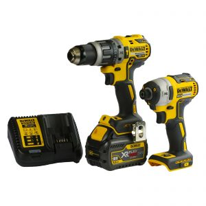 DeWalt DCZ266T1-XE 18V XR 6.0Ah FLEXVOLT Lithium-Ion YELLOW & BLACK Friday Brushless 2 Piece Kit - SOLD OUT