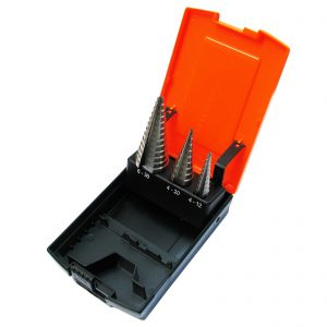 SP Tools SP31398 Step Drill Set 3 Piece Metric