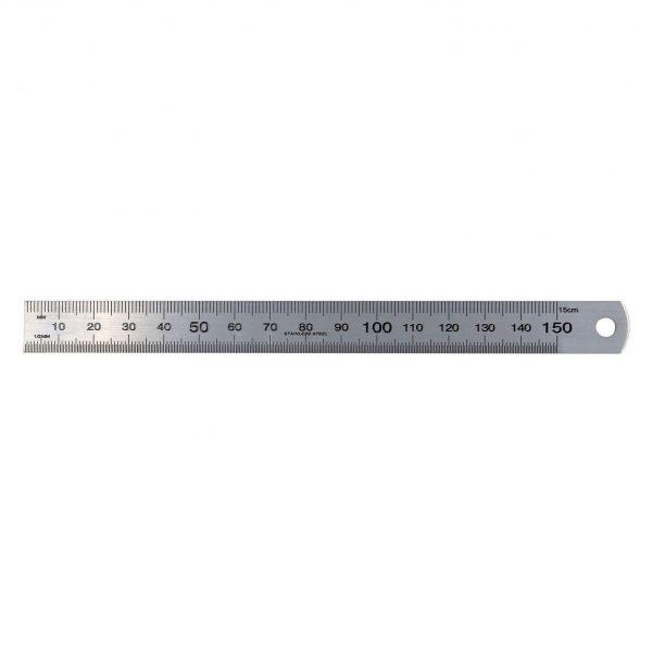 "SP Tools SP35211 Rule Stainless Steel - Ruler 15cm 150mm 6"""