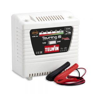 Telwin TOURING15 Battery Charger Touring 15 230V 12V 9A / 24V 4.5A