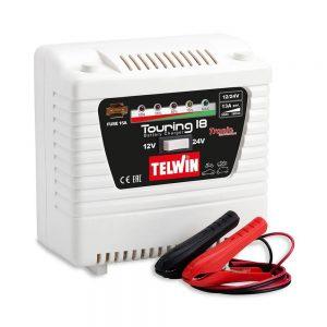 Telwin TOURING18 Battery Charger Touring 18 230V 12V 13A / 24V 8A