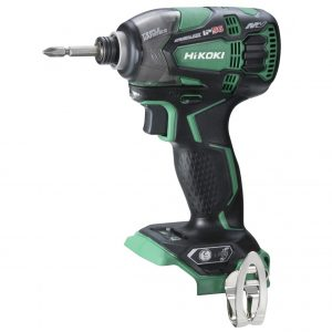 HiKOKI - Hitachi WH36DB(H4Z) 36V MultiVolt Lithium-Ion 1/4″ Hex Drive Brushless IP56 Impact Driver Skin Only – Bare Tool