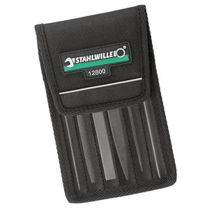 Stahlwille 12800 Precision Warding File Set 6 Piece Including Wallet 72230001