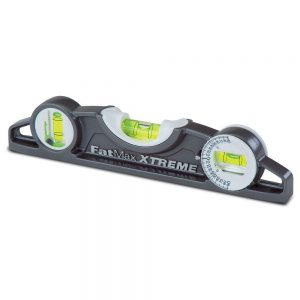 Stanley 43-609 FATMAX® XTREME PRO 250mm Torpedo Level with Rare Earth Magnets