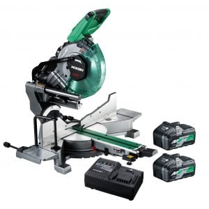 HiKOKI – Hitachi C3610DRA(HAZ) 36V MultiVolt Lithium-Ion Brushless Cordless Slide Compound Mitre Saw Kit