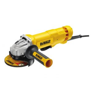 "DeWALT DWE4213-XE 5"" 125mm 1200W Non Locking Paddle Switch SAG Angle Grinder"