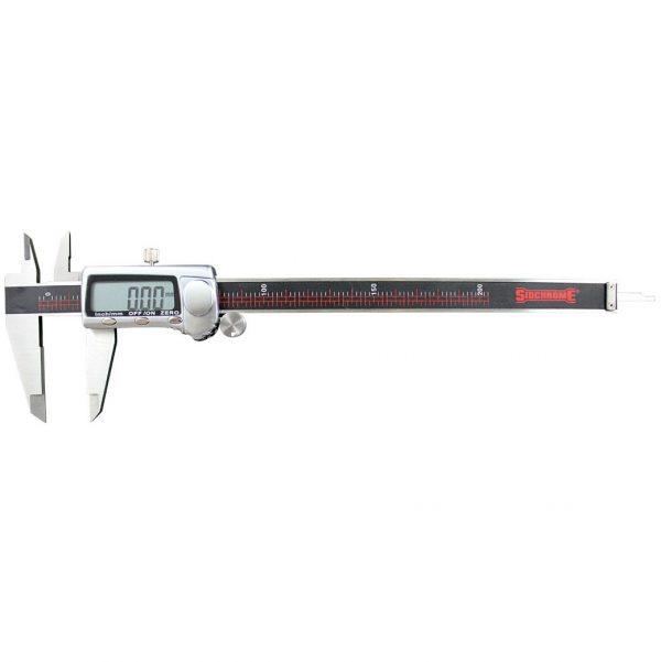 Sidchrome SCMT26116 Digital Vernier Caliper 200mm (8″) Metric & Imperial Display