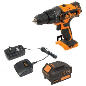 Triton XT18DD2B Heavy Duty XT 18V 3.0Ah Lithium-Ion Cordless Drill Driver Kit
