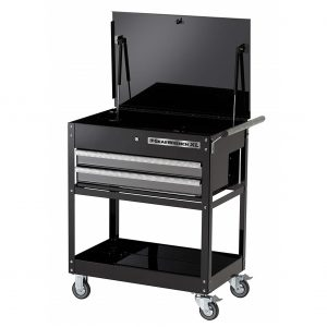 "GEARWRENCH 83152 32"" 2 Drawer XL Series Black & Silver Tool Trolley / Cart"
