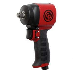 "Chicago Pneumatic CP7732C Ultra Compact Lightweight Stubby Air 1/2"" Square Drive Impact Wrench 625Nm 8941077321"