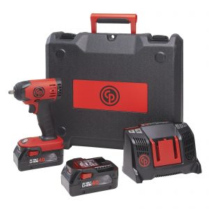 Chicago Pneumatic CP8828 3/8″ Square Drive 20V 4.0Ah Lithium-Ion Cordless Impact Wrench Pack / Kit 8941088280