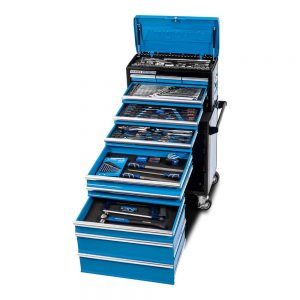 "Kincrome K1225 EVOLUTION Workshop Chest & Trolley 185 Piece 11 Drawer 1/4"", 3/8"" & 1/2"" Drive"
