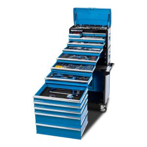"Kincrome K1226 EVOLUTION Workshop Chest & Trolley 245 Piece 14 Drawer 1/4"", 3/8"" & 1/2"" Drive"