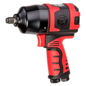 "Shinano Pneumatic SI-1490B Air 1/2"" Square Drive Impact Wrench 850Nm SI1490B - Made in Japan"